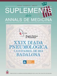Sup. UPDATE 09.qxd - Societat Catalana de Pneumologia