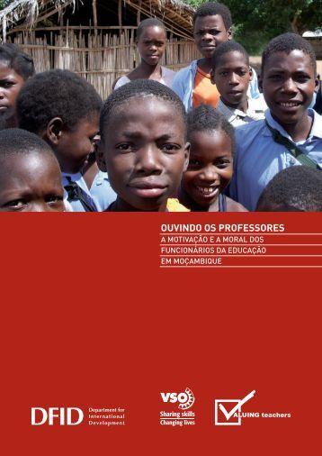OUVINDO OS PROFESSORES - VSO