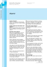 Behandling med Atamir - EPIS - Gentofte Hospital