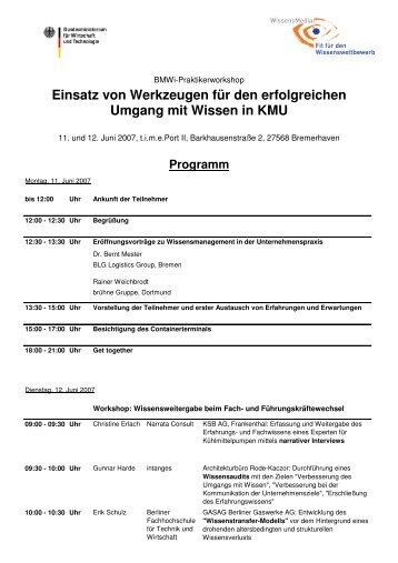 Einsatz von Werkzeugen für den erfolgreichen ... - OctaMedia GmbH