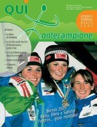 qui montecampione n° 1 gennaio-febbraio-marzo 2005