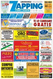 Zapping 10 – 2012 - diAlessandria.it