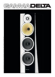 hi-end | audio video | home cinema | custom ... - Gammadelta.It