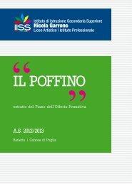 """Il poffino a.s. 2012-2013 - """"Garrone"""" – BARLETTA"""