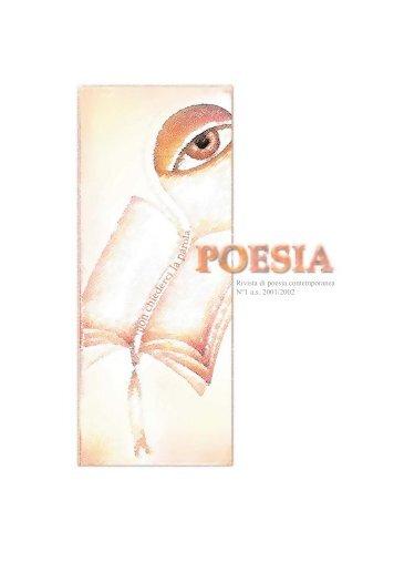 RIVISTA DI POESIA N. 1 (PDF 560Kb) - Ipvalle.It
