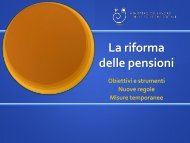 guida sintetica riforma pensioni - Ministero del lavoro, salute e ...