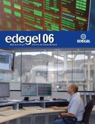 Memoria Anual Informe de Sostenibilidad - Edegel