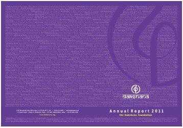 Annual Report 2011 - Dakshana