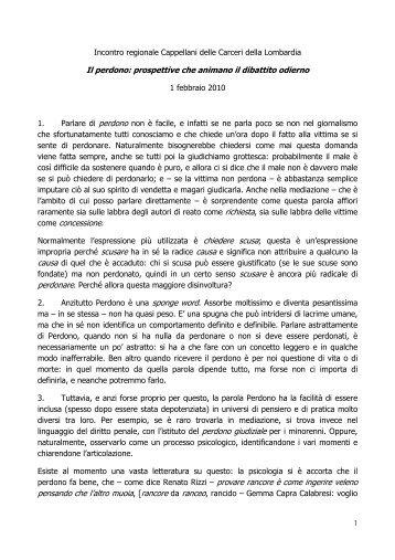Incontro regionale Cappellani delle Carceri della Lombardia