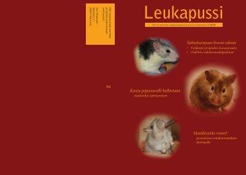 Leukapussi - Oulun seudun jyrsijäharrastajat ry OSJH