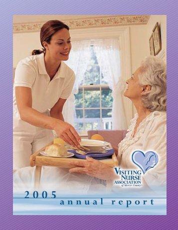 2005 Annual Report - Visiting Nurses Assoc