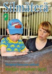 Silmäterä-lehti 3/2011 - Näkövammaiset lapset ry
