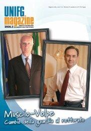 Unifg Magazine 2008.2 - Università degli Studi di Foggia