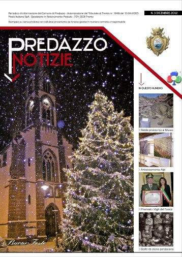 Buone Feste - PredazzoBlog