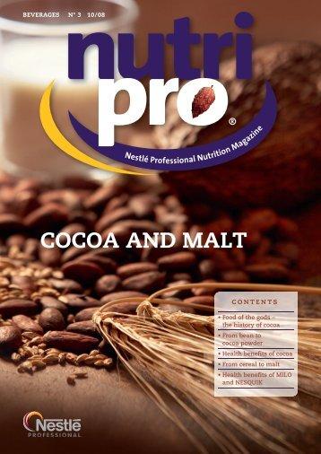 CoCoA And MALt - Nestlé Professional