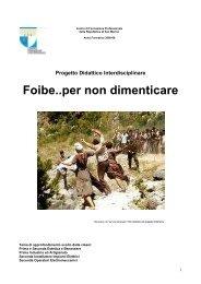 Le foibe - pdf - Portale per l'educazione