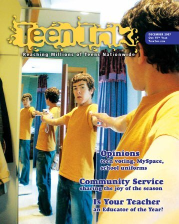 Army Ad - Teen Ink