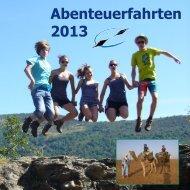 Abenteuerfahrten 2013