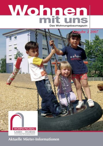 Ausgabe 2 - Wohnungsbau GmbH Worms