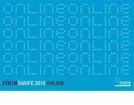 TA RIFE 2010 ONLINE - Medizinische Medien Informations GmbH
