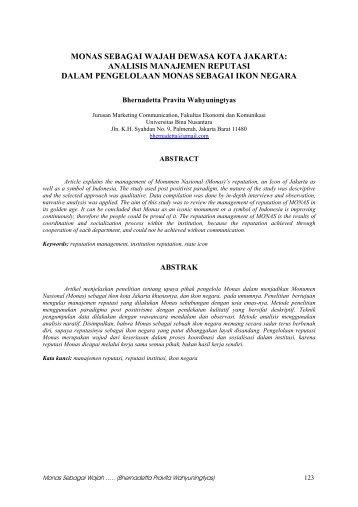 kumpulan thesis binus