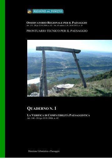 Prontuario Tecnico per il Paesaggio