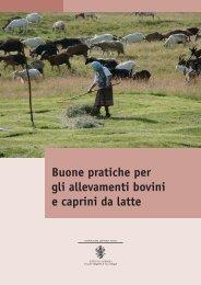 Buone pratiche per gli allevamenti bovini e caprini da latte