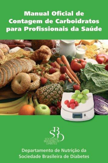 Manual de Contagem de Carboidratos - Sociedade Brasileira de ...