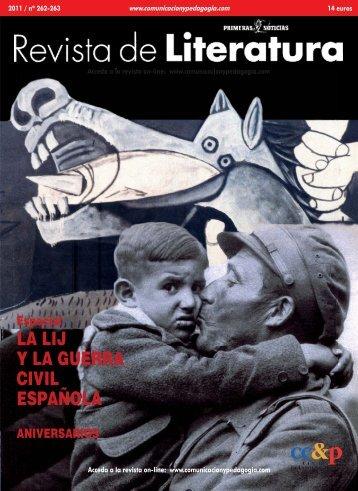 LA LIJ Y LA GUERRA CIVIL ESPAÑOLA - Centro de Comunicación ...