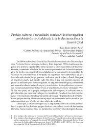 Pueblos culturas e identidades étnicas en la investigación ...