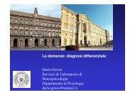 Le demenze: diagnosi differenziale - Associazione Geriatri ...