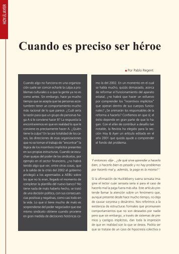 Cuando es preciso ser héroe - IEEM