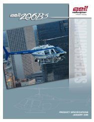 PRODUCT SPECIFICATIONS JANUARY 2006 - Eagle Copters