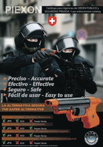 Preciso - Accurate Efectivo - Effective Seguro - Safe ... - Globalcom
