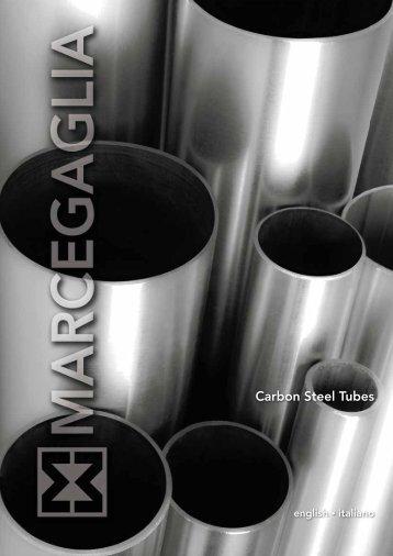 TUBI IN ACCIAIO AL CARBONIO, Carbon Steel Tubes - Marcegaglia