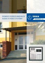 Domáce dorozumievacie zariadenia 2012 - Tesla Stropkov