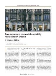 Asociacionismo comercial espacial y revitalización urbana - Mercasa