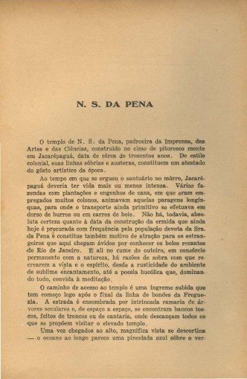 Nossa Senhora da Pena, por Augusto Maurício