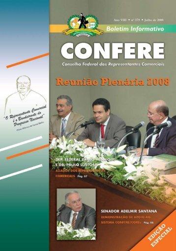 1 Julho 2008 - Conselho Federal dos Representantes Comerciais