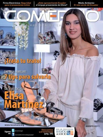 RevistaComercioAgosto.pdf - Cámara de Comercio de Guayaquil