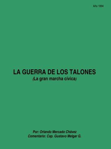 LA GUERRA DE LOS TALONES - Orlando Mercado Chavez
