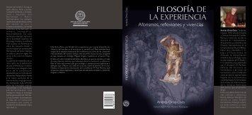 104.- Filosofía de la Experiencia. Aforismos, reflexiones y vivencias.