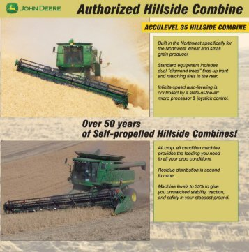 Authorized Hillside Combine - Acculevel-ag Systems