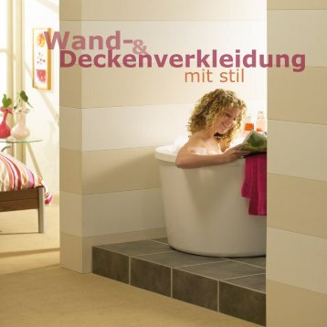 Heering Florence Nassraumpaneele / Feuchtraumpaneele gibts bei www.decke-wand-boden.de