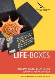 LIFE-BOXES - Fondation Cancer