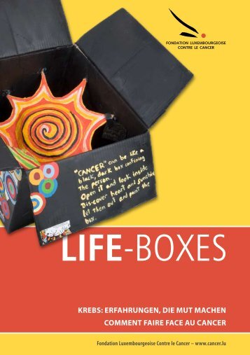 LIFE-BOXES - Fondation Cancer