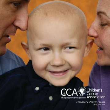 Community Benefits RepoRt - Children's Cancer Association
