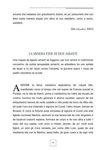 Masuccio Salernitano: Martina e Loisi - Annamaria Cavalli