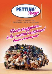 catalogo 2013 - Pettinà Viaggi