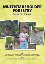 Multistakeholder forestry: steps for change - Center for International ...